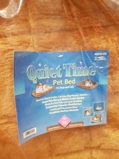 Quiet Time Pet Bed - brown colour