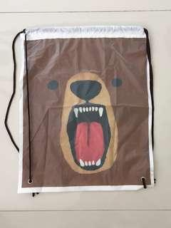 🚚 Bear drawstring bag 🐻