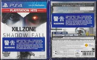 全新 PS4 殺戮地帶 闇影墮落(PLAYSTATION HITS)(中英文合版) PS4 KILLZON