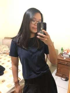 UNIQLO's T Shirt Polos (Navy)
