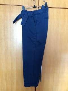 Giordano Ladies 藍色九分褲