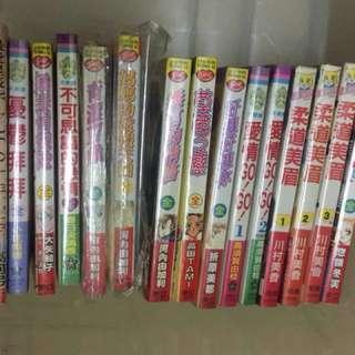 不同漫畫 15本 有包裝。包從家順豐。不散賣