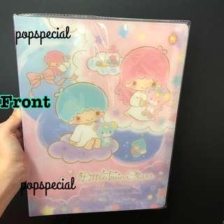 Little Twin Stars Kiki Lala Folder Clear File 20 Pockets