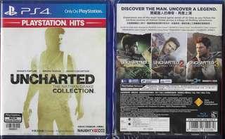 全新 PS4 秘境探險: 奈森德瑞克合輯(中英文版) PS4 UNCHARTED: THE NATHAN COLLECTION