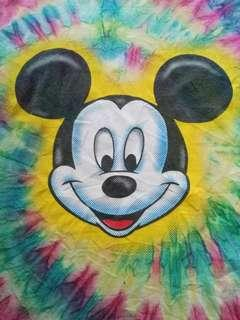 Vintage 90's Mickey Mouse tie dye t-shirt
