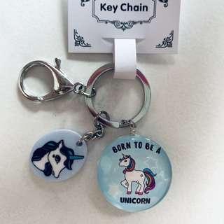 Unicorn Keychain <Born To Be A Unicorn>