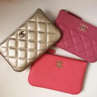Chanel coins bag pouch