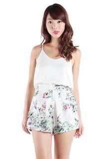 TTR Petal Magnolia Chiffon Shorts