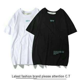 Tshirt Off White 19SS for men women unisex