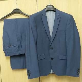 Burton Menswear London Suit (Top and Bottom)