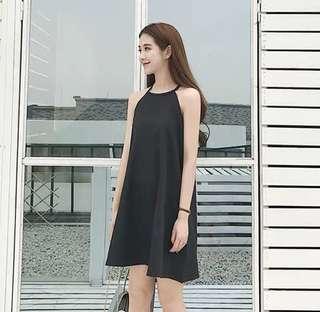 Halter Black Dress