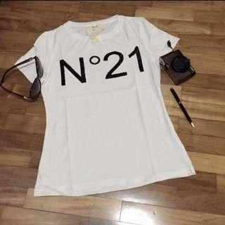 New* Italy Nº21 sequined Tshirt N21 (Size S-M)