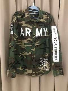Authentic Fingercroxx Army Shirt