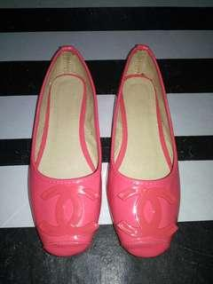 Flat shoes chanel gred size 40