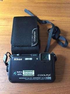 Nikon Coolpix waterproof shockproof