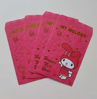 5% for Followers $4.90 Non Followers LIMITED SANRIO ORIGINAL Authentic Brand New My Melody Red packet Angbao Envelope