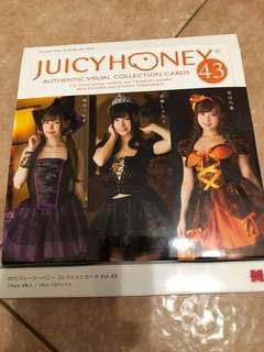 juicy honey volume 43 card 萬聖節版 寫真卡 not CJ Series