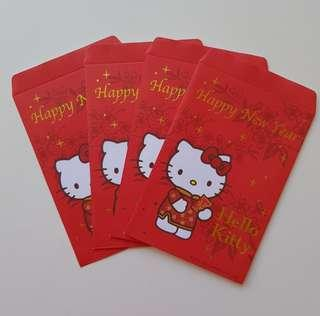 5% for Followers $4.90 Non Followers LIMITED SANRIO ORIGINAL Authentic Brand New Hello Kitty Red packet Angbao Envelope