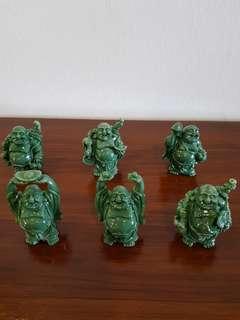 Laughing Buddha Display Set