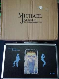 Michael Jackson the ultimate collection*china*(33dvds +1cd)