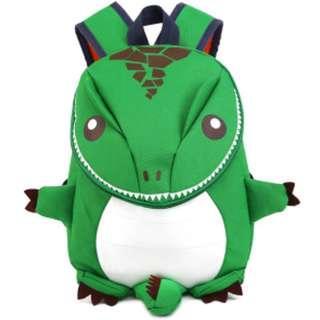 🚚 3D Dinosaur Backpack For Boys Children backpacks kids kindergarten Small SchoolBag Girls Animal School Bags Backpack for 1-5 years - Green