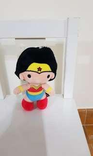 "[BN] 7"" Wonder woman wonderwoman keychain justice league soft toy stuff toy"