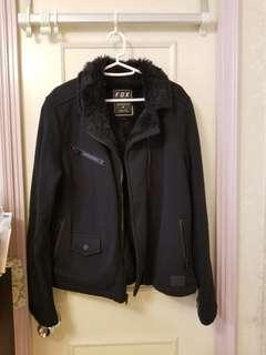 Fox faux fur jacket M to L