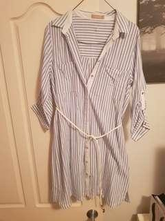 Forcast stripe dress