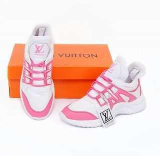 Lv made in vietnam combi pink tua