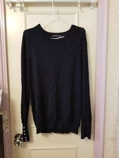 Zara navy jumper