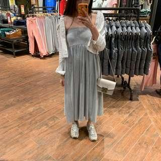 Uniqlo Grey Tube Dress