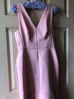 Pink Cooper St dress worn for a few hours