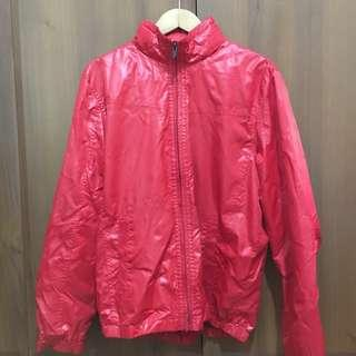 Giordano Red Jacket with Hood
