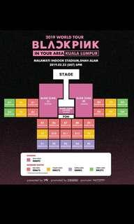 [ wtt ] blackpink world tour in malaysia red zone