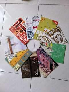 Present perfect magzines