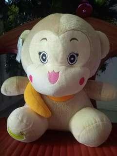 Boneka Monkey Sedang