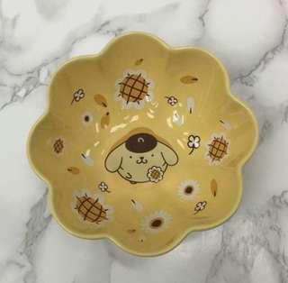 7-11 Sanrio布甸狗陶瓷花花碗