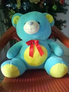 Boneka Bear Biru