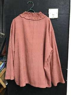 women blouse stripes