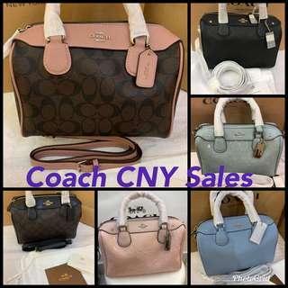 Authentic coach women Bennett handbag crossbody bag sling bag