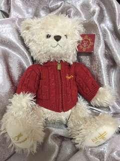 🚚 英國Harrods30週年熊玩偶