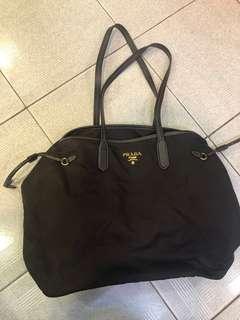 正版Prada Tote Bag 啡色