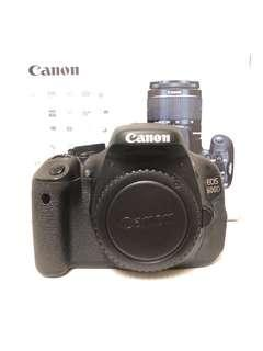 Canon EOS 600D Body Only