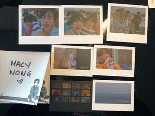 Bts photocards merch