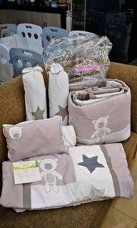 Complete 6 pieces set Baby Comforter