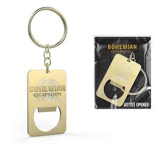 Bohemian Rhapsody Movie Premium - Bottle Opener, Pin Badge