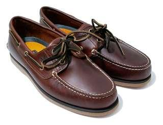 Timberland's Classic Rootbeer Brown Boat Shoes