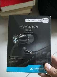 🚚 Sennheiser momentum in-ear earpiece(A-grade)
