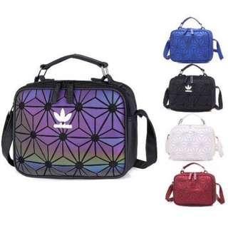 e4e95893a0 3D Mesh Issey Miyake Adidas Inspired Sling Bag