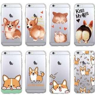 Cute Corgi iPhone/Samsung Cases